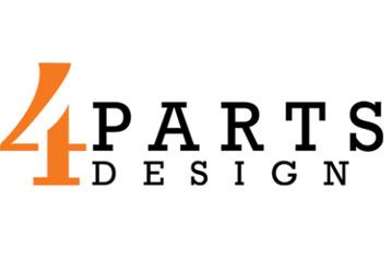 4 Parts Design Logo