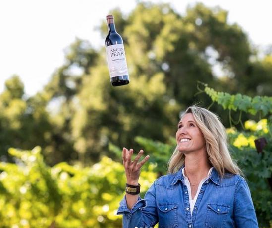 Amanda from Ancient Peaks Winery