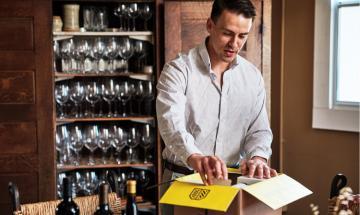 Opening Wine Shipment