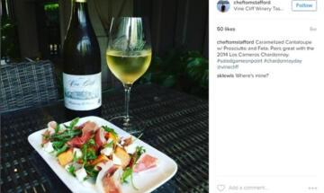 Chardonnay Day Instagram