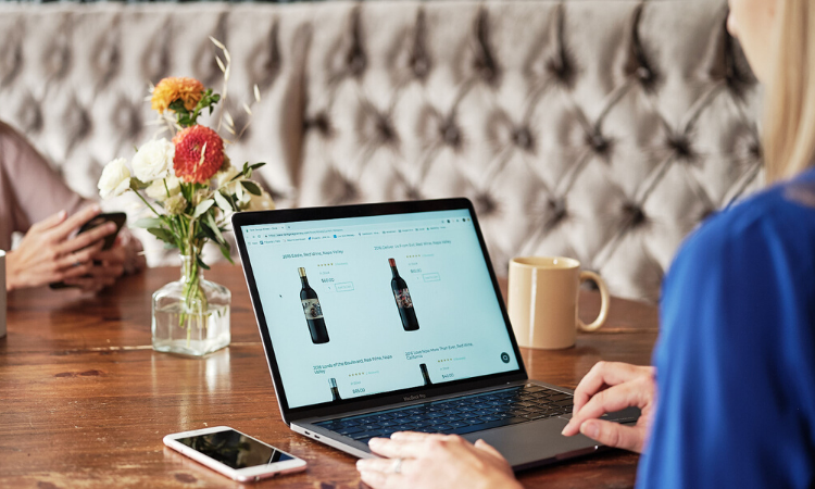 Seo Shopping For Wine 750X450
