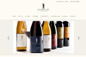 Vin65 Designers Cfnapa Brand Design Scheid Vineyards