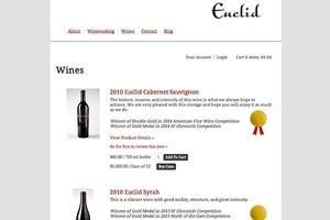 Vin65 Designers Wine And The Web Euclid Wines